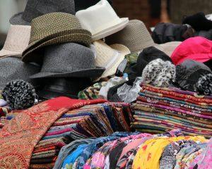 tweed, hats, scarves, shawls